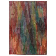 Pantone Universe Prismatic Red/ Orange Rug (6'7 x 9'6) - Overstock™ Shopping - Great Deals on Pantone Universe 5x8 - 6x9 Rugs