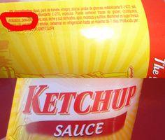 Ketchup (moluscos y pescado) | 7 Ingredientes que contienen productos de alimentación (que nunca te hubieras imaginado)
