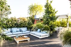 Outdoor Furniture Sets, Outdoor Decor, Landscape Architecture, Rooftop, Home And Garden, Roof Gardens, Plants, Design, Home Decor