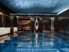 Corinthia Hotel's ESPA Life spa swimming pool. - Image - Design Build Network