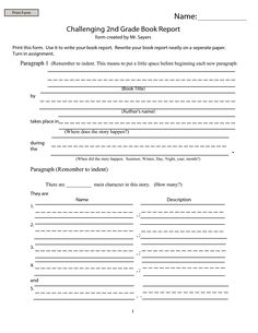 Mystery book report template   thejudgereport   web fc  com  nd grade mystery book report template