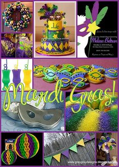 Someday I want to have a Mardi Gras party!