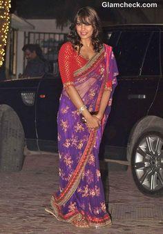 Bipasha Basu in Sari