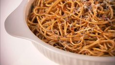 Giada De Laurentiis - Linguine with Sun-Dried Tomatoes, Olives, and Lemon