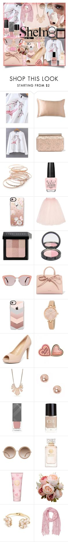 """Blush"" by claire394 ❤ liked on Polyvore featuring Donna Karan, Oscar de la Renta, Red Camel, OPI, Casetify, Ballet Beautiful, Bobbi Brown Cosmetics, Prada, Mansur Gavriel and Kate Spade"