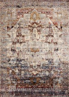 <p>Ornate traditionals distressed and full of character are modernized by illuminating color-ways in the Anastasia collection. Power loomed in Egypt of polypropylene and polyester, Anastasia not only is durable and easy care, but gives the appearance of being a fine rug made by hand. The intricate detail, luster of colors, and unbeatable price point establish the value of this outstanding collection. Anastasia is available in various sizes including rounds and runners.</p> <p>Rug Sizes:...