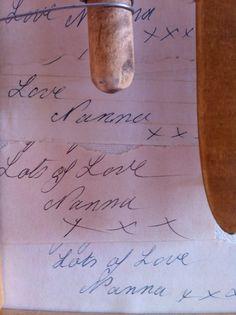 Lots of love, Nanna