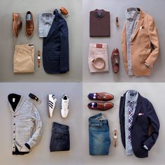 Men style inspiration from @runnineverlong ... which one is your favorite? #menswear #menfashion #mensstyle
