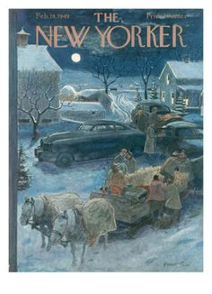 The New Yorker Cover - February 19, 1949 Giclee Print by Garrett Price at Art.com