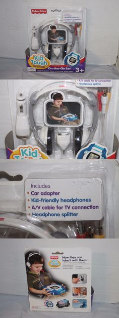 Kid Tough 158743: Fisher Price Kid Tough Dvd Player On The Go Set Includes Adapter, Headphones, Ca -> BUY IT NOW ONLY: $34.95 on eBay!