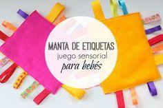 DIY Manta de etiquetas: Juego sensorial para bebés   Blog de BabyCenter