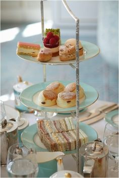 London, England - The Diamond Jubilee Tea Salon at Fortnum & Mason Traditional afternoon tea, £40. To book contact The Savoy, The Strand, London W1