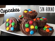 Cupcakes Sin Horno y 5 Ingredientes - YouTube