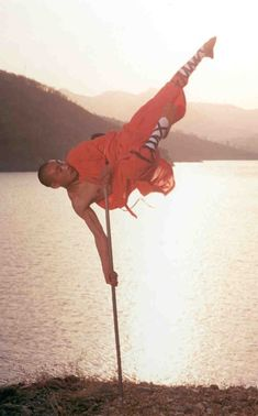 The staff weapon, makes the Shaolin one of the most powerful schools.