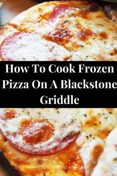 Grilled Pizza Recipes, Grilling Recipes, Cooking Recipes, Cooking On The Grill, Camping Cooking, Blackstone Grill, Griddle Recipes, Cast Iron Recipes