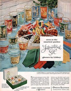 Image result for libbey glass advertisements