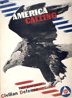 Title: World War II Poster Designer (if known): Herbert Matter Date it was created (if known): 1941 Medium: Lithograph Category: Modern War Propaganda Poster Something interesting about the piece: the black and white photo against the color marks.