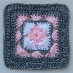 Ravelry: LD-0103 Afghan block pattern by Crochet- atelier