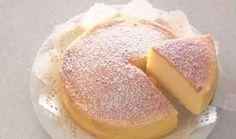 Tutti pazzi per lei, ecco perché questa torta è la più cercata (e amata) del momento ♦๏~✿✿✿~☼๏♥๏花✨✿写☆☀🌸🌿🎄🎄🎄❁~⊱✿ღ~❥༺♡༻🌺<SA Jan ♥⛩⚘☮️ ❋ Three Ingredient Cheesecake Recipe, 3 Ingredient Cakes, Three Ingredient Recipes, Japanese Cotton Cheesecake, Japanese Cheesecake Recipes, Japanese Cheescake, Japanese Cake, Sweets Recipes, Cooking Recipes