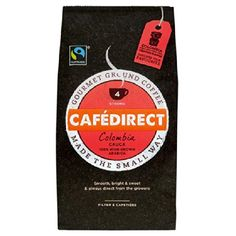 Cafedirect Cafe Direct Colombia Cauca 100% High Grown Arabica Ground Coffee (2X227G) >>> This is an Amazon Associate's Pin. You can get more details by clicking on the image.