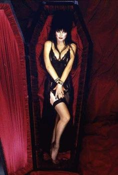 Elvira, Mistress Of The Dark - The Most Alluring Of All Horror Hosts....I remember watching her host all those (now stupid) B horror movies every Saturday