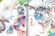 Awesome art journal by Jen Stark