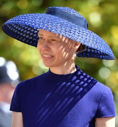 Lady Sarah Chatto attends the wedding of Prince Harry to Ms Meghan Markle at St George's Chapel, Windsor Castle on May 2018 in Windsor, England. Prince Henry Charles Albert David of Wales marries. Royal Families Of Europe, British Royal Families, Duchess Of York, Duke And Duchess, Meghan Markle, Adele, Lady Sarah Armstrong Jones, Lady Sarah Chatto, Prince Harry And Megan