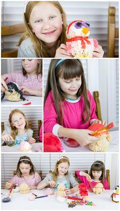 Toy Shaped Rice Krispies Treats