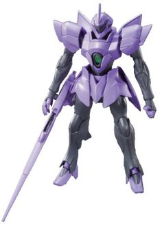 """Bandai Hobby #016 Dorado """"Gundam Age"""" - 1/144 Advanced Grade. Snap together requiring no glue. Plastic is colored; no paint required. Advanced Grade kits can be removed from runners without any tools."""