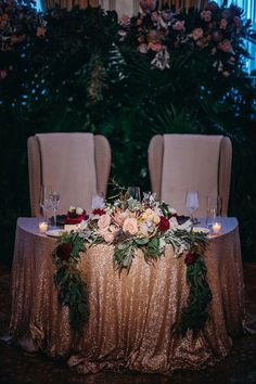 How To Give Your Ballroom Wedding A Chic Fall Style. dramatic fall inspired sweetheart table Glam up your Fall wedding day like this! Wedding Events, Our Wedding, Destination Wedding, Wedding Planning, Dream Wedding, Wedding Vows, Budget Wedding, Wedding Ballroom Decor, Luxury Wedding