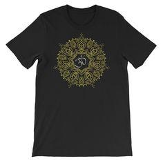 Mandala Om Symbol Buddhism Buddha Yogi Yoga Men Women Tee T Shirt #om #yoga #yogi #Buddha #tee #tshirt #womensfashion #fashion #LiJacobs