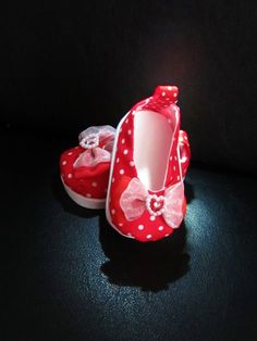"""American Handmade 18"""" Doll Clothes- Red Holiday - Doll Shoes for 18 inch Girl Dolls"""
