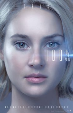 She's the one they've been waiting for. Shailene Woodley is Tris Prior. #Allegiant