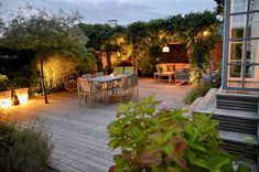 Outdoor Spaces, Outdoor Living, Outdoor Decor, Back Gardens, Outdoor Gardens, Rooftop Gardens, Garden Living, Home And Garden, Underground Homes