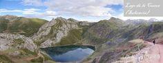 Lago de la Cueva, uno de los más bonitos lagos de Somiedo. Pertenece a los lagos de Saliencia.