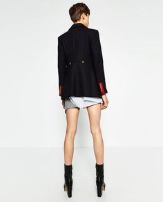 SHORT COAT-View all-OUTERWEAR-WOMAN | ZARA Mexico