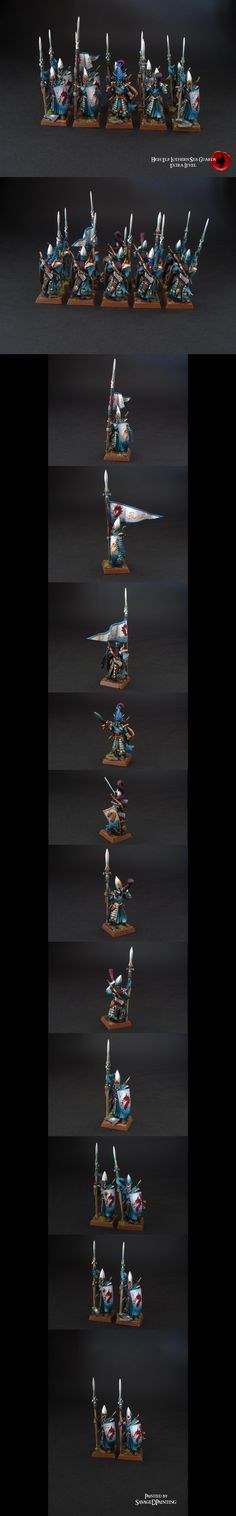 High Elf Lothern Sea Guards