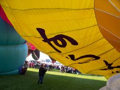 Inflating Ebisu: Albuquerque International Balloon Fiesta
