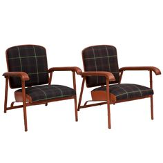 Jacques Adnet Armchairs | From a unique collection of antique and modern armchairs at https://www.1stdibs.com/furniture/seating/armchairs/