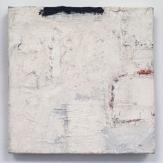 "Robert Ryman, Untitled , 1959. oil paint on pre-primed stretched cotton canvas, 8-1/4"" x 8-1/4"" (21 cm x 21 cm)."