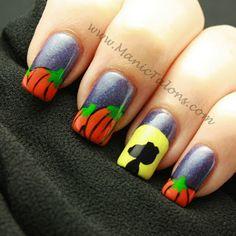 Great Pumpkin Nail Art