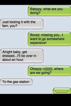 gas is getting pretty high