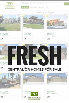*** FRESH ON THE MARKET! *** View our freshest homes for sale this week throughout Central Oregon!  // Fred Real Estate Group // hello@fredrealestate.com // BuyAHomeInBend.com // #RealEstate #BendOregon