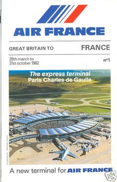 Air France CDG 2 with Concorde