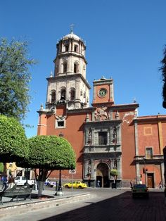 Queretaro Mexico, El Centro. Favorite place I've ever been.  Would move to this city if I ever got the chance!