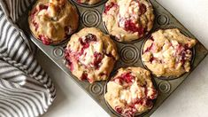 Muffins aux canneberges et chocolat blanc – Mitsou Magazine