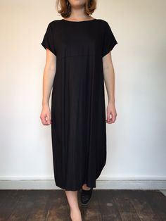Wichita Dress - Black Twill