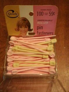 Brush roller pin fasteners.