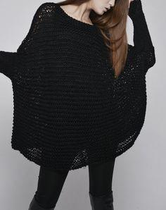 Suéter de mujer de gran TAMAÑO / punto jersey en por MaxMelody