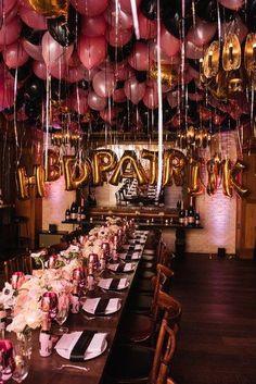 25th Birthday Parties, Birthday Goals, Adult Birthday Party, Birthday Dinners, Birthday Woman, Birthday Celebration, Ideas For 18th Birthday, 18th Birthday Decor, Elegant Birthday Party